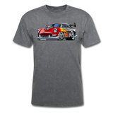 Hot Rod - Retro - Unisex Classic T-Shirt - mineral charcoal gray