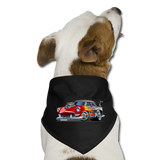 Hot Rod - Retro - Dog Bandana - black