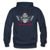 Aviator - Air Ace - Gildan Heavy Blend Adult Hoodie - navy