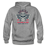 Aviator - Air Ace - Gildan Heavy Blend Adult Hoodie - graphite heather