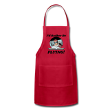 I'd Rather Be Flying - Women - Adjustable Apron - red