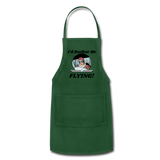 I'd Rather Be Flying - Women - Adjustable Apron - forest green