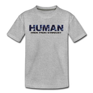 Human - Stardust - Kids' Premium T-Shirt - heather gray