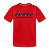 Human - Stardust - Kids' Premium T-Shirt - red