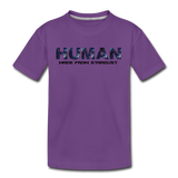 Human - Stardust - Kids' Premium T-Shirt - purple