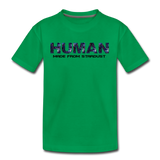 Human - Stardust - Kids' Premium T-Shirt - kelly green