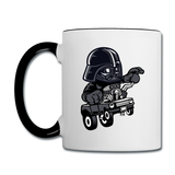 Darth Vader - Hot Rod - Contrast Coffee Mug - white/black