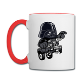 Darth Vader - Hot Rod - Contrast Coffee Mug - white/red