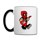 Deadpool - Rockstar - Contrast Coffee Mug - white/black