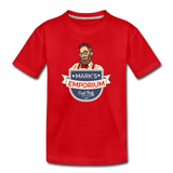 SPOD - Mark's Emporium Logo - Kids' Premium T-Shirt - red