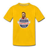 SPOD - Mark's Emporium Logo - Kids' Premium T-Shirt - sun yellow