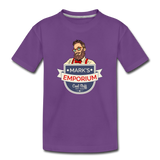 SPOD - Mark's Emporium Logo - Kids' Premium T-Shirt - purple