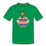 SPOD - Mark's Emporium Logo - Kids' Premium T-Shirt - kelly green