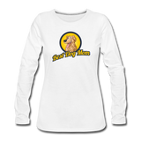 Best Dog Mom - Women's Premium Long Sleeve T-Shirt - white