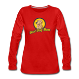 Best Dog Mom - Women's Premium Long Sleeve T-Shirt - red
