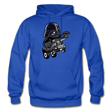 Darth Vader - Hot Rod - Gildan Heavy Blend Adult Hoodie - royal blue