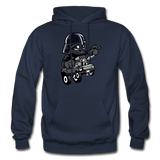 Darth Vader - Hot Rod - Gildan Heavy Blend Adult Hoodie - navy