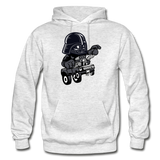 Darth Vader - Hot Rod - Gildan Heavy Blend Adult Hoodie - light heather gray