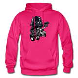 Darth Vader - Hot Rod - Gildan Heavy Blend Adult Hoodie - fuchsia