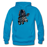 Darth Vader - Hot Rod - Gildan Heavy Blend Adult Hoodie - turquoise