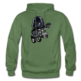 Darth Vader - Hot Rod - Gildan Heavy Blend Adult Hoodie - military green