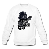 Darth Vader - Hot Rod - Crewneck Sweatshirt - white