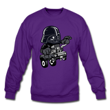 Darth Vader - Hot Rod - Crewneck Sweatshirt - purple