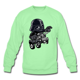 Darth Vader - Hot Rod - Crewneck Sweatshirt - lime