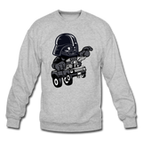 Darth Vader - Hot Rod - Crewneck Sweatshirt - heather gray