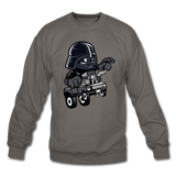 Darth Vader - Hot Rod - Crewneck Sweatshirt - asphalt gray