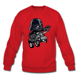 Darth Vader - Hot Rod - Crewneck Sweatshirt - red