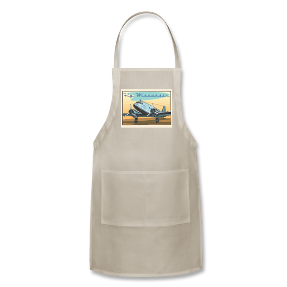 Fly Wisconsin - Adjustable Apron - natural