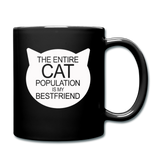 Cats - My Best Friends - White - Full Color Mug - black