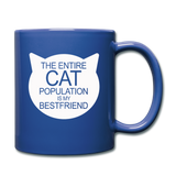Cats - My Best Friends - White - Full Color Mug - royal blue