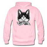 Cat Lover - Gildan Heavy Blend Adult Hoodie - light pink