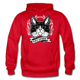 Cat Lover - Gildan Heavy Blend Adult Hoodie - red