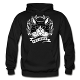 Cat Lover - Gildan Heavy Blend Adult Hoodie - black