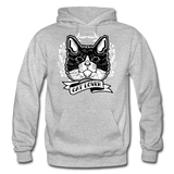 Cat Lover - Gildan Heavy Blend Adult Hoodie - heather gray