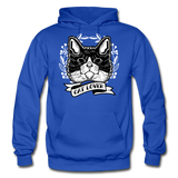 Cat Lover - Gildan Heavy Blend Adult Hoodie - royal blue