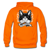 Cat Lover - Gildan Heavy Blend Adult Hoodie - orange