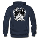 Cat Lover - Gildan Heavy Blend Adult Hoodie - navy