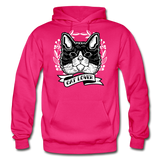 Cat Lover - Gildan Heavy Blend Adult Hoodie - fuchsia