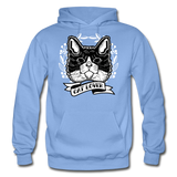 Cat Lover - Gildan Heavy Blend Adult Hoodie - carolina blue