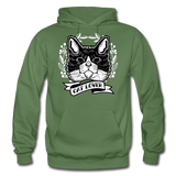 Cat Lover - Gildan Heavy Blend Adult Hoodie - military green