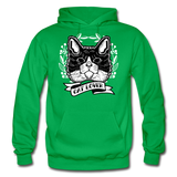 Cat Lover - Gildan Heavy Blend Adult Hoodie - kelly green