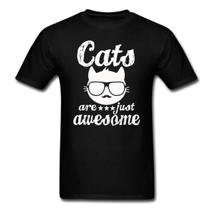 Cats Are Just Awesome - White - Unisex Classic T-Shirt - black