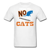 There Are No Ordinary Cats - Unisex Classic T-Shirt - white