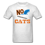 There Are No Ordinary Cats - Unisex Classic T-Shirt - light heather gray