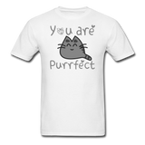You Are Purrfect - Unisex Classic T-Shirt - white