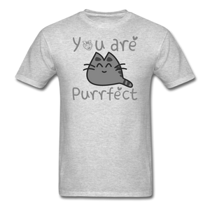 You Are Purrfect - Unisex Classic T-Shirt - heather gray